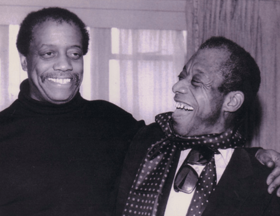 James Baldwin and Brother David Baldwin