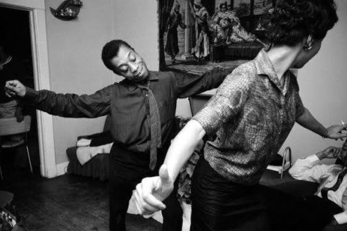 James Baldwin and Lorraine Hansberry