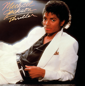 Michael Jackson 'Thriller' album cover