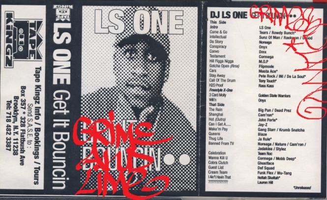 DJ LS One Mixtape Cover