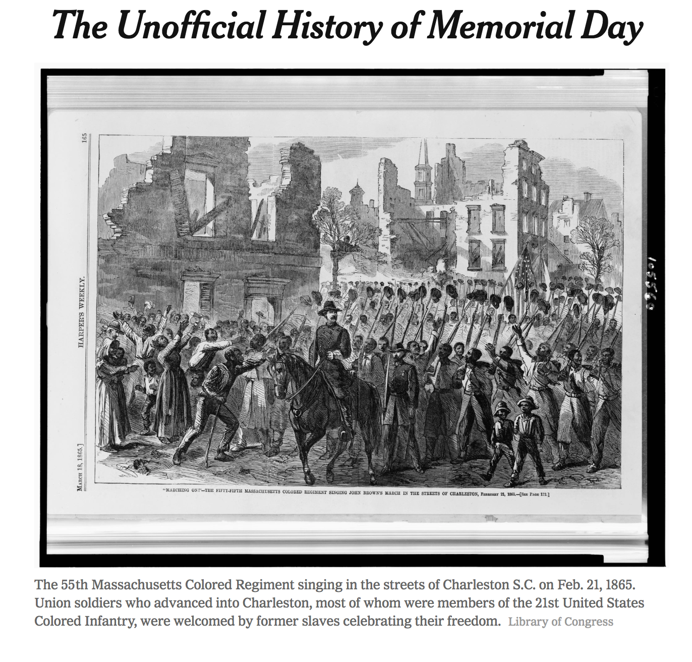 The Unofficial History of Memorial Day via The New York Times