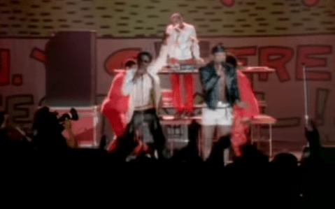 Whodini performing their hit smash